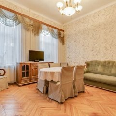 Апартаменты Ludwig Apartments on 4-ya liniya комната для гостей фото 5