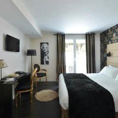 Отель Hôtel La Villa Cannes Croisette Франция, Канны - отзывы, цены и фото номеров - забронировать отель Hôtel La Villa Cannes Croisette онлайн комната для гостей фото 4