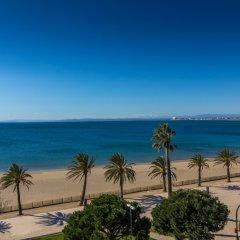 Отель Agi Panama Испания, Курорт Росес - отзывы, цены и фото номеров - забронировать отель Agi Panama онлайн пляж фото 2