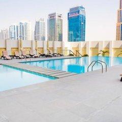 Отель Stunning 4 BDR Penthouse in Dubai Marina бассейн