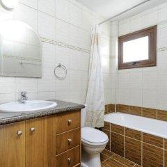 Отель Zouvanis Luxury Villas Кипр, Протарас - отзывы, цены и фото номеров - забронировать отель Zouvanis Luxury Villas онлайн ванная