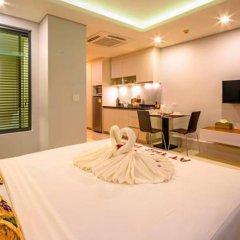 Отель At The Tree Condominium Phuket Студия с различными типами кроватей фото 2