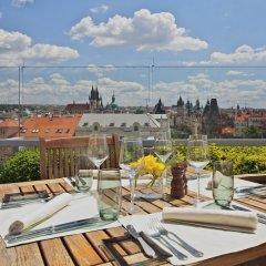 Отель Intercontinental Prague Прага балкон