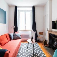 Отель DIFY Lafayette - Part Dieu Франция, Лион - отзывы, цены и фото номеров - забронировать отель DIFY Lafayette - Part Dieu онлайн комната для гостей фото 3
