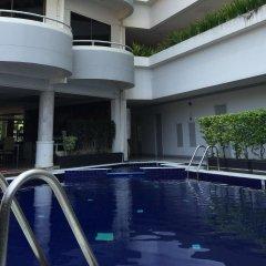 Отель Garden Paradise Hotel & Serviced Apartment Таиланд, Паттайя - отзывы, цены и фото номеров - забронировать отель Garden Paradise Hotel & Serviced Apartment онлайн бассейн фото 2