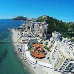 Hotel Keshtjella пляж