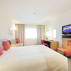 Отель Novotel Edinburgh Centre Великобритания, Эдинбург - отзывы, цены и фото номеров - забронировать отель Novotel Edinburgh Centre онлайн комната для гостей фото 5