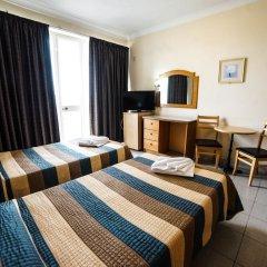 Отель Coral Hotel Мальта, Сан-Пауль-иль-Бахар - 2 отзыва об отеле, цены и фото номеров - забронировать отель Coral Hotel онлайн комната для гостей фото 5