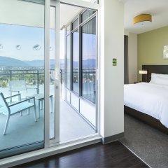 Отель Element Vancouver Metrotown Канада, Бурнаби - отзывы, цены и фото номеров - забронировать отель Element Vancouver Metrotown онлайн балкон