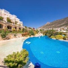 Likya Residence Hotel & Spa Boutique Class Турция, Калкан - отзывы, цены и фото номеров - забронировать отель Likya Residence Hotel & Spa Boutique Class онлайн пляж