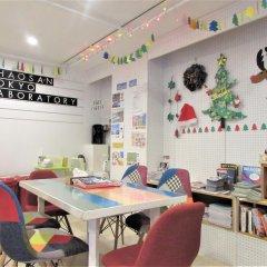 Отель Khaosan Tokyo Laboratory Токио питание