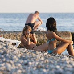 """Гостиница """"АиР-Тамара"""" Част. гост. пляж"""