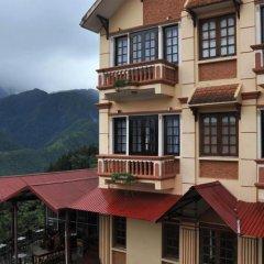 Отель Sapa Eden Hotel Вьетнам, Шапа - 1 отзыв об отеле, цены и фото номеров - забронировать отель Sapa Eden Hotel онлайн балкон