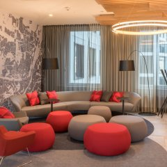 Отель Holiday Inn Express Munich City West Германия, Мюнхен - 1 отзыв об отеле, цены и фото номеров - забронировать отель Holiday Inn Express Munich City West онлайн интерьер отеля