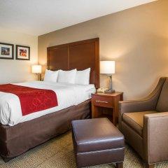 Отель Comfort Suites Columbus West - Hilliard США, Колумбус - отзывы, цены и фото номеров - забронировать отель Comfort Suites Columbus West - Hilliard онлайн комната для гостей фото 5