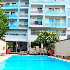 Отель Aquamare Hotel Греция, Родос - отзывы, цены и фото номеров - забронировать отель Aquamare Hotel онлайн фото 7