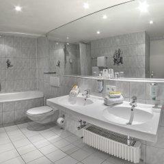 Отель Drei Loewen Hotel Германия, Мюнхен - 14 отзывов об отеле, цены и фото номеров - забронировать отель Drei Loewen Hotel онлайн ванная