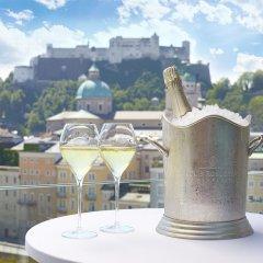 Hotel Stein Зальцбург балкон