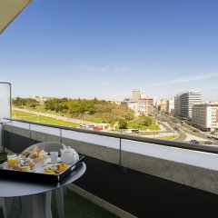 Отель HF Fénix Lisboa балкон