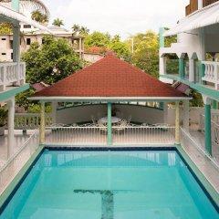 Отель Diamond Villas and Suites Ямайка, Монтего-Бей - отзывы, цены и фото номеров - забронировать отель Diamond Villas and Suites онлайн бассейн фото 2