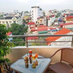 Отель Golden Cyclo Ханой балкон