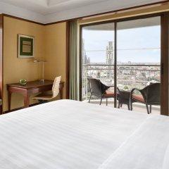 Отель Shangri-la Бангкок балкон