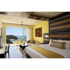 Отель Secrets Huatulco Resort & Spa 4* Полулюкс с различными типами кроватей фото 2