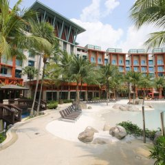 Resorts World Sentosa - Hard Rock Hotel Сингапур пляж
