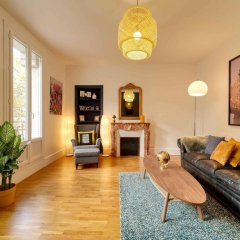 Апартаменты Apartment With 2 Bedrooms in Boulogne-billancourt, With Furnished Terrace and Wifi Булонь-Бийанкур фото 8