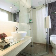 Paco Hotel Guangzhou Gangding Metro Branch ванная фото 2