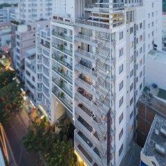Brandi Nha Trang Hotel вид на фасад фото 2