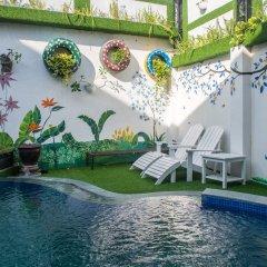 Отель Ngo House 2 Villa Хойан бассейн фото 3
