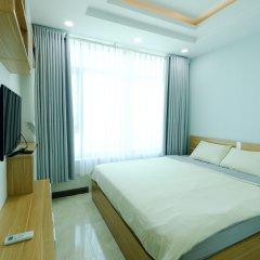 Апартаменты Sunrise Hon Chong Ocean View Apartment Нячанг комната для гостей фото 3
