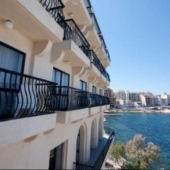 Отель Gillieru Harbour Сан-Пауль-иль-Бахар балкон