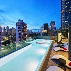 Отель Oakwood Studios Singapore Сингапур, Сингапур - отзывы, цены и фото номеров - забронировать отель Oakwood Studios Singapore онлайн бассейн фото 2
