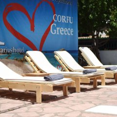 Aquarius Beach Hotel пляж