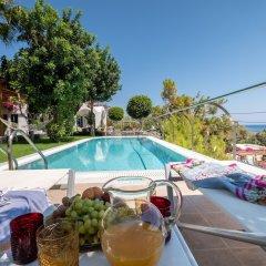 Отель Santorini Mystique Garden Греция, Остров Санторини - отзывы, цены и фото номеров - забронировать отель Santorini Mystique Garden онлайн бассейн фото 2