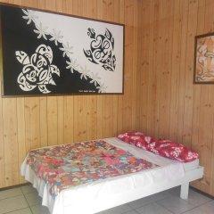Отель Pension Rangiroa Plage сауна