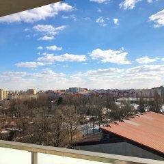 Апартаменты Fox Center Apartments Варшава балкон