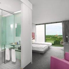 Отель Innside By Melia Parkstadt Schwabing Мюнхен комната для гостей фото 3