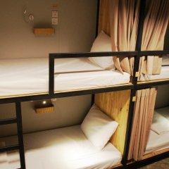 Homie Hostel & Cafe' Бангкок комната для гостей фото 5