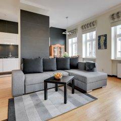 Апартаменты Lion Apartments - Parkowa 41-4 Сопот комната для гостей фото 4