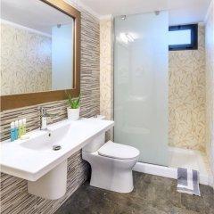Отель Philoxenia Bungalows ванная