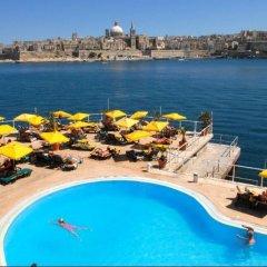 Отель Fortina Мальта, Слима - 1 отзыв об отеле, цены и фото номеров - забронировать отель Fortina онлайн пляж фото 2