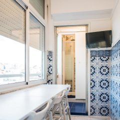 Nook Lisbon Hostel Лиссабон ванная