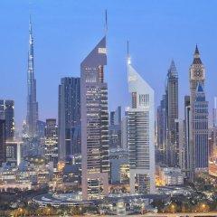 Отель Jumeirah Emirates Towers городской автобус