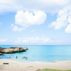 Отель Villa Capri Salon & SPA Доминикана, Бока Чика - отзывы, цены и фото номеров - забронировать отель Villa Capri Salon & SPA онлайн пляж фото 2