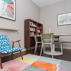 Апартаменты Stylish 1 Bedroom Apartment Near Kings Cross комната для гостей фото 5