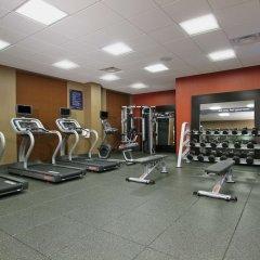 Отель Hampton Inn & Suites Columbus/University Area Колумбус фитнесс-зал фото 4