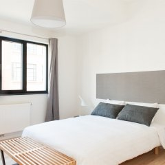 Отель Smartflats City - Châtelain Бельгия, Брюссель - отзывы, цены и фото номеров - забронировать отель Smartflats City - Châtelain онлайн комната для гостей фото 2